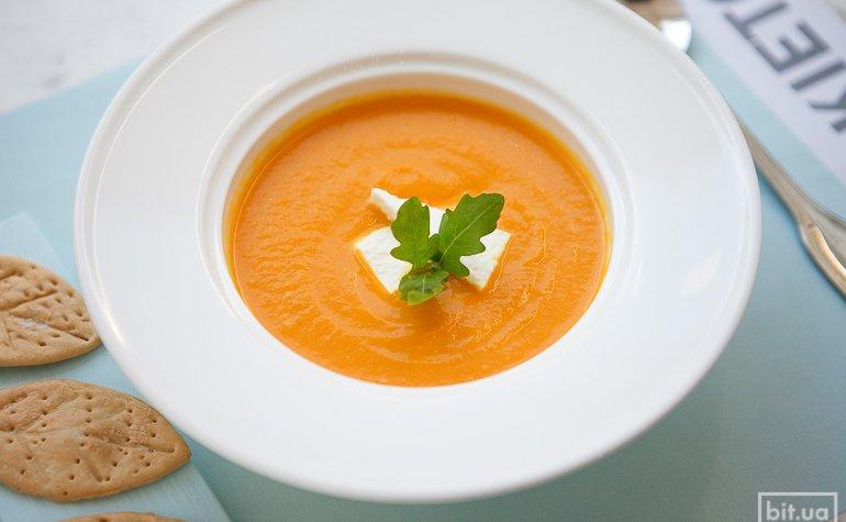 Тыквенный крем-суп, 55 грн.